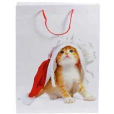 Bæreposer - papirposer i glittet papir med tykke bæresnore