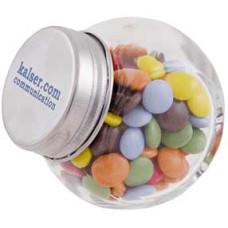 Bolscheglas - Mini Candy glas - chokolinser i glas