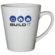 Kaffekrus - firmakrus med logo - 8 farver