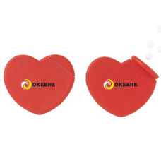 Pebermyntepastiller i hjertedispenser