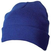 Strikhue -  med logo - tophue med varmt Thinsulate foer -TILBUD