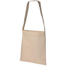 Skulderpose - indkøbspose  - med lang skulderstrop