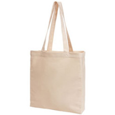Mulepose - shopper - med lange stropper - økologisk bomuld