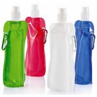 Drikkedunk- vandflasker - foldbare vandflasker med logo